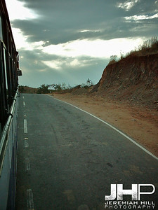 """The Way Back"", Puttaparthi, Andhra Pradesh, India, 2005 Print INDIA7-108V2"
