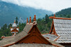 Roofs of the Kalpa Temple buildings