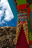 Pillar of the Sakya Kaza monastery.