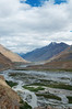 River flowing through the Spiti Valley.