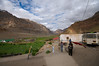 Check post, entering the Spiti Valley, near Kaza.