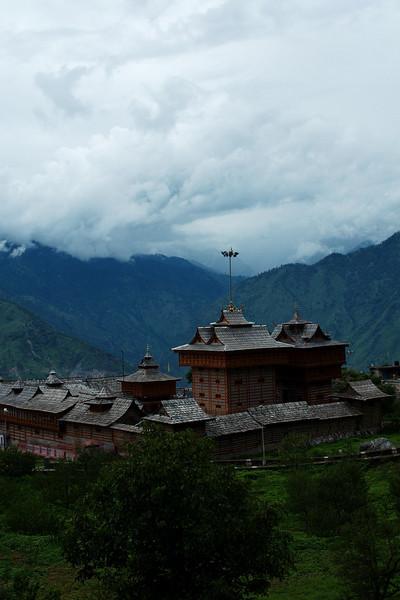 The impressive Bhimakali Temple of Sarahan