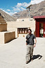 Yann in the courtyard of the Tabo Monastery