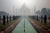 Taj Mahal AM Fog