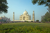 Taj Mahal in afternoon from right side