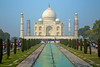 Taj Mahal ~ PM ~ Filled with local crowds