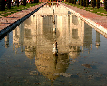 The Taj Mahal in the Reflecting Pool