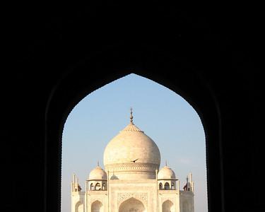 Taj Mahal in Arch