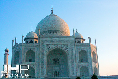 """Taj Mahal In Morning Light"", Agra, Uttar Pradesh, India, 2007 Print IND387-033"