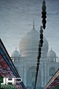 """""""Taj Dreams"""", Agra, India, 2007 Print IND385-011V2"""