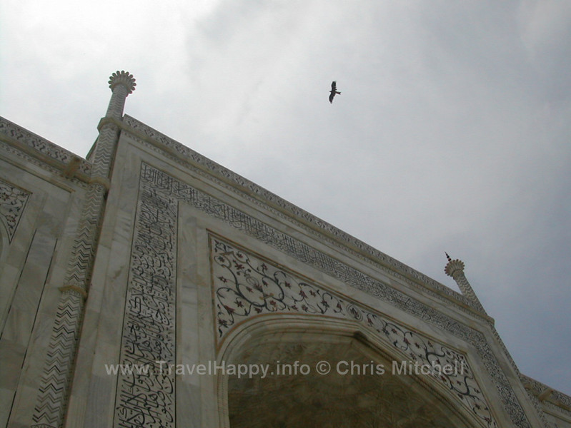 "Taj Mahal India August 2002 // See more of my travels at <a href=""http://travelhappy.info"">Travel Happy</a>"
