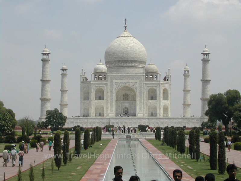 """Taj Mahal India August 2002 // See more of my travels at <a href=""""http://travelhappy.info"""">Travel Happy</a>"""