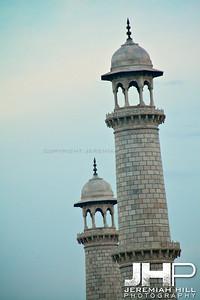 """""""Taj Minarets"""", Agra, India, 2007 Print IND385-258"""