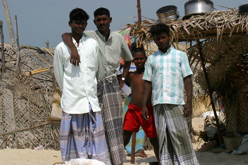 Families, Dhanushkodi fisherman
