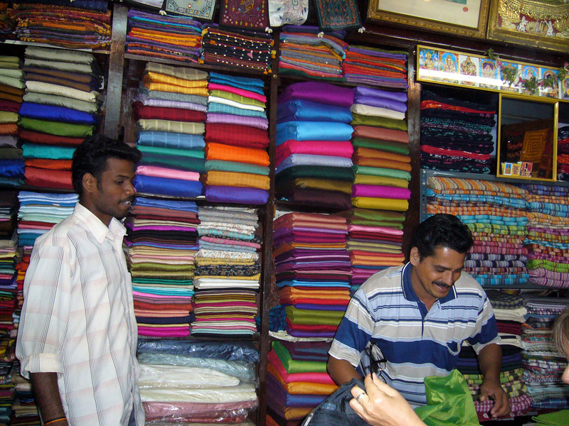 Our Tailor shop Maudrai, Tamil Nadu, India Meenakshi Temple