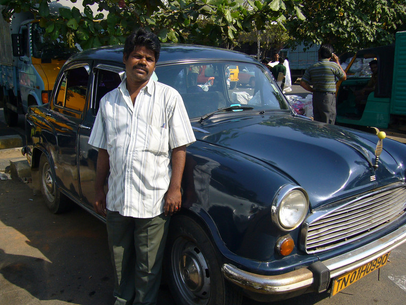 The Hindustan Ambassador, the Taxi of India,  is a car manufactured by Hindustan Motors of India. It has been in production since 1958 and is based on the Morris Oxford III model first made by the Morris Motor Company at Cowley, Oxford in the United Kingdom from 1956 to 1959.<br /> <br /> Despite its British origins, the Ambassador is considered the definitive Indian car. Ooty an Old British Hill Town, Tamil Nadu, India