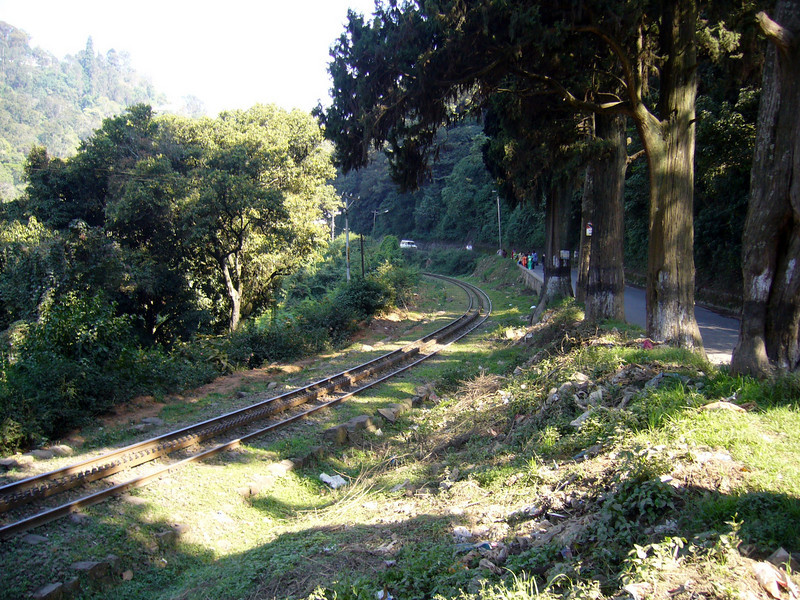Part of the Nilgiri Mountain Railway. This is one of the oldest mountain railways in India. Began in 1845, the line was finally opened by the British in 1899, Ooty an Old British Hill Town, Tamil Nadu, India