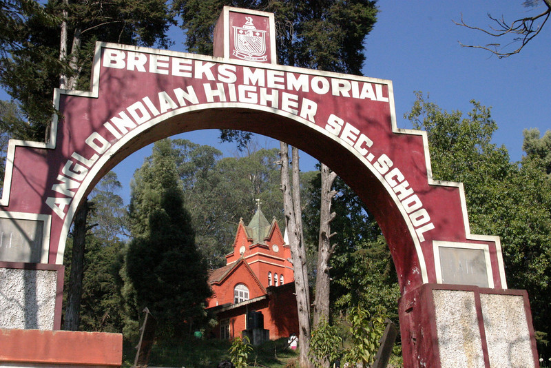 The Breeks Memorial School is well known English medium public school located in Ooty at Charing Cross,,It was established in the year 1874. It is named after James Wilkinson Breeks, the first Commissioner (Collector) of the Nilgiris, who founded it in 1874. Ooty an Old British Hill Town, Tamil Nadu, India