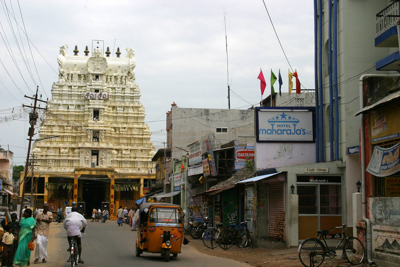 MaharaJa's Hotel, close to Ramanatha Swamy Temple. Very nice people and very convenient as you see. More pictures and links on the last page. Rameswaram, Ramanatha Swamy Temple,Tamil Nadu, India