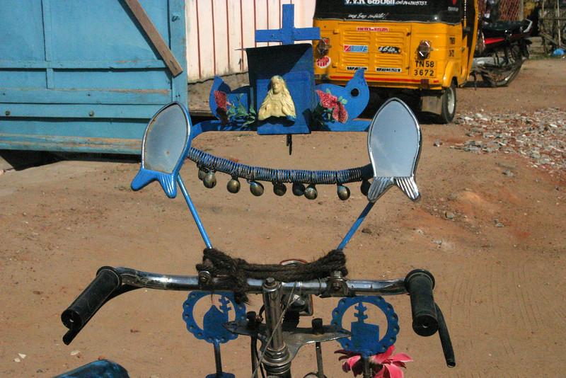 Manamadurai Junction, pimped up bike Train from Manamadurai Junction  to Rameswaram, Tamil Nadu, India