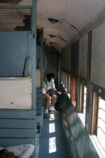Train car to Rameswaram Train from Manamadurai Junction  to Rameswaram, Tamil Nadu, India