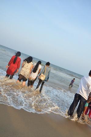 Marina Beach Chennai (Madras)