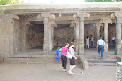 Arjuna Penance - Descent of the Ganges Mahabalipuram