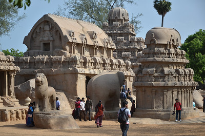 Mahabalipuram, derived from Mamallapuram