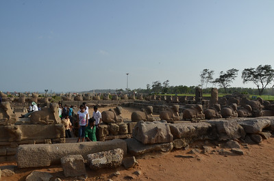 The Shore Temple - Mahabalipuram