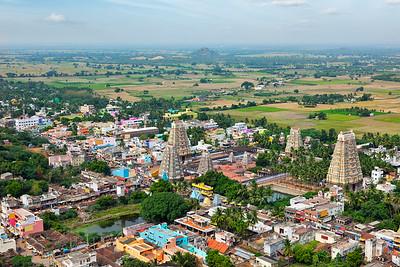 Lord Bhakthavatsaleswarar Temple.  Thirukalukundram (Thirukkazhukundram), near Chengalpet, Tamil Nadu, India