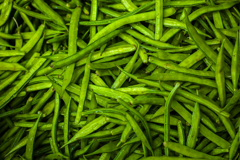 Grean peas background