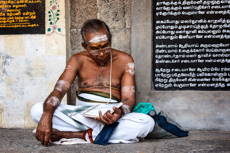 Temple brahmin
