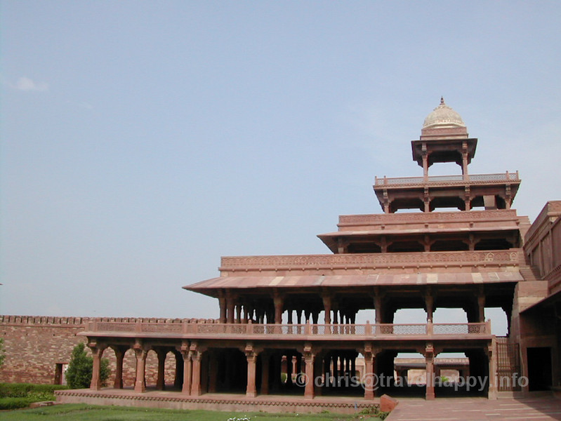 "The Ghost City Of Fatehpur Sikri, India August 2002 // See more of my travels at <a href=""http://travelhappy.info"">Travel Happy</a>"