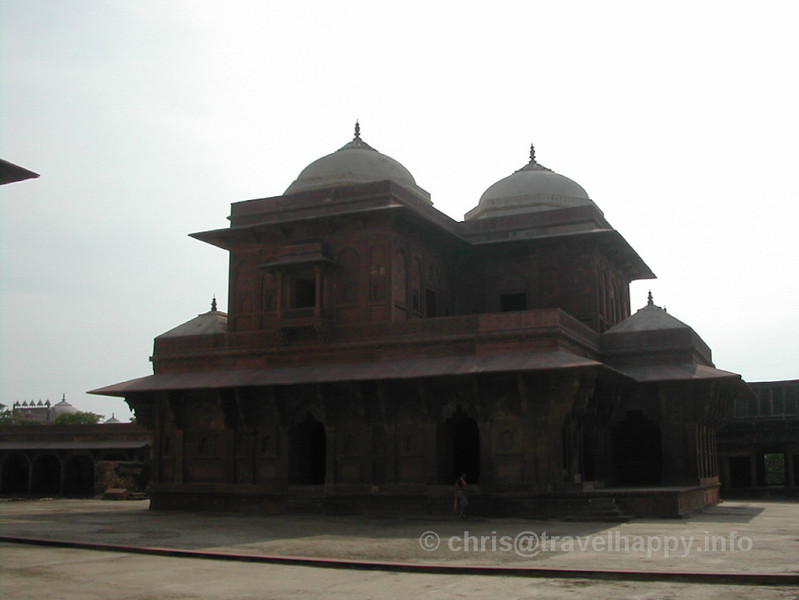 """The Ghost City Of Fatehpur Sikri, India August 2002 // See more of my travels at <a href=""""http://travelhappy.info"""">Travel Happy</a>"""