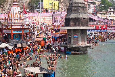 Har Ki Pauri (Devanagari: हर-की-पौडी) is a famous ghat on the banks of the Ganges in Haridwar