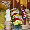 New Year offerings at Satya Tibetan Monastery, Dehradun, India