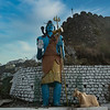 Statue of Lord Shiva,Mussoorie, Uttarakhand, India