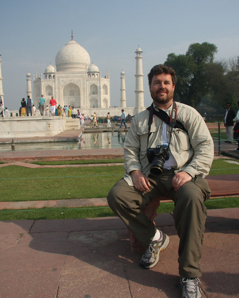 Keith, Taj Mahal