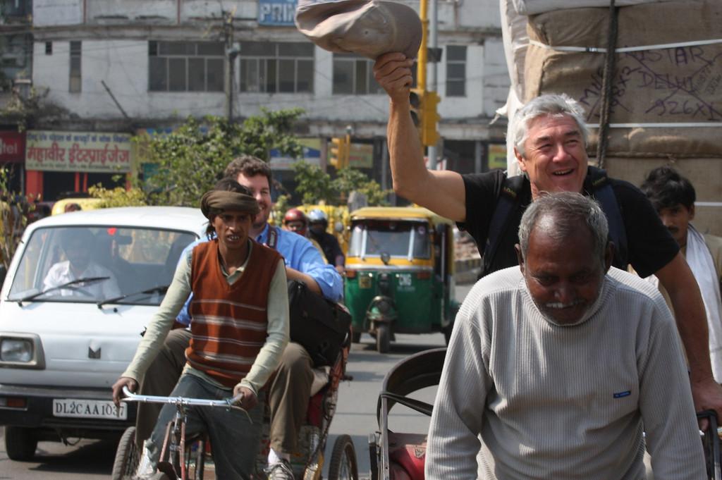 Wm, New Delhi, by the New Delhi Junction train station