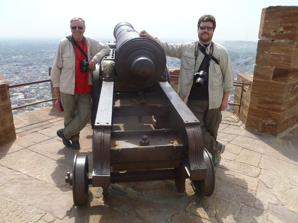 overlooking Jaipur