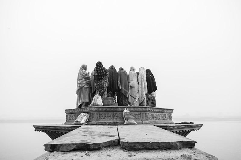 Pilgrims, Kesi Ghat, Vrindavan