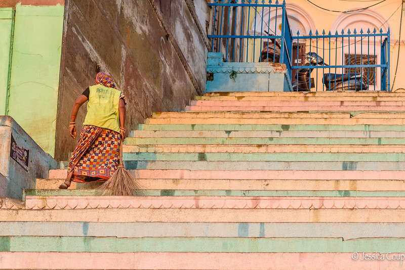 Cleaning the Ghat