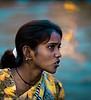 Morning, Water Woman, Ganges River, Varanasi