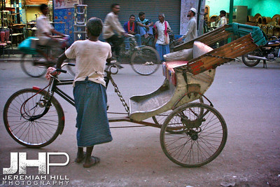 """Varanasi Rickshaw Walla"", Varanasi, Uttar Pradesh, India, 2006  Print IS2906-409"