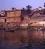 Washing, Ganges River, Varanasi, India (Bronica 645)