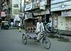 Empty Cab, Varanasi, India