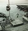 Bather, Ganges River, Varanasi, India (Bronica 645)