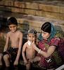 Child Bather, Ganges River, Varanasi, India