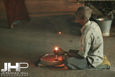 """In Wait With Flame"", Varanasi, Uttar Pradesh, India, 2006 Print IS2906-511"