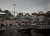 Evening (Ghats) II, Ganges River, Varanasi, India